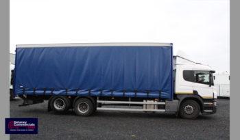 2015 Scania P320 6×2 Curtainside full