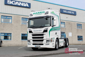 JS & J Harris's new Scania R520 - Delaney Commercials