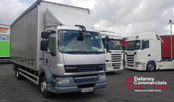 2012 Daf LF55 180 4×2 curtainsider.