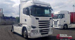 2016 Scania R450 4×2 Highline tractor unit.