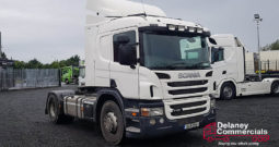 2013 Scania P400 4×2 tractor unit.