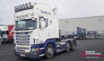 2009 Scania R480 6×2 Tractor Unit full