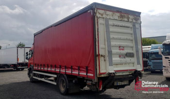 2009 Scania P230 4×2 curtainsider full