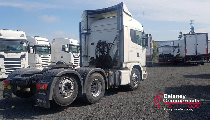 2014 Scania G440 6×2 tag axle tractor unit. full