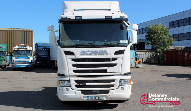 2017 Scania G410 4×2 Tractor Unit full
