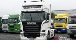 2015 Scania R450 4×2 tractor unit.