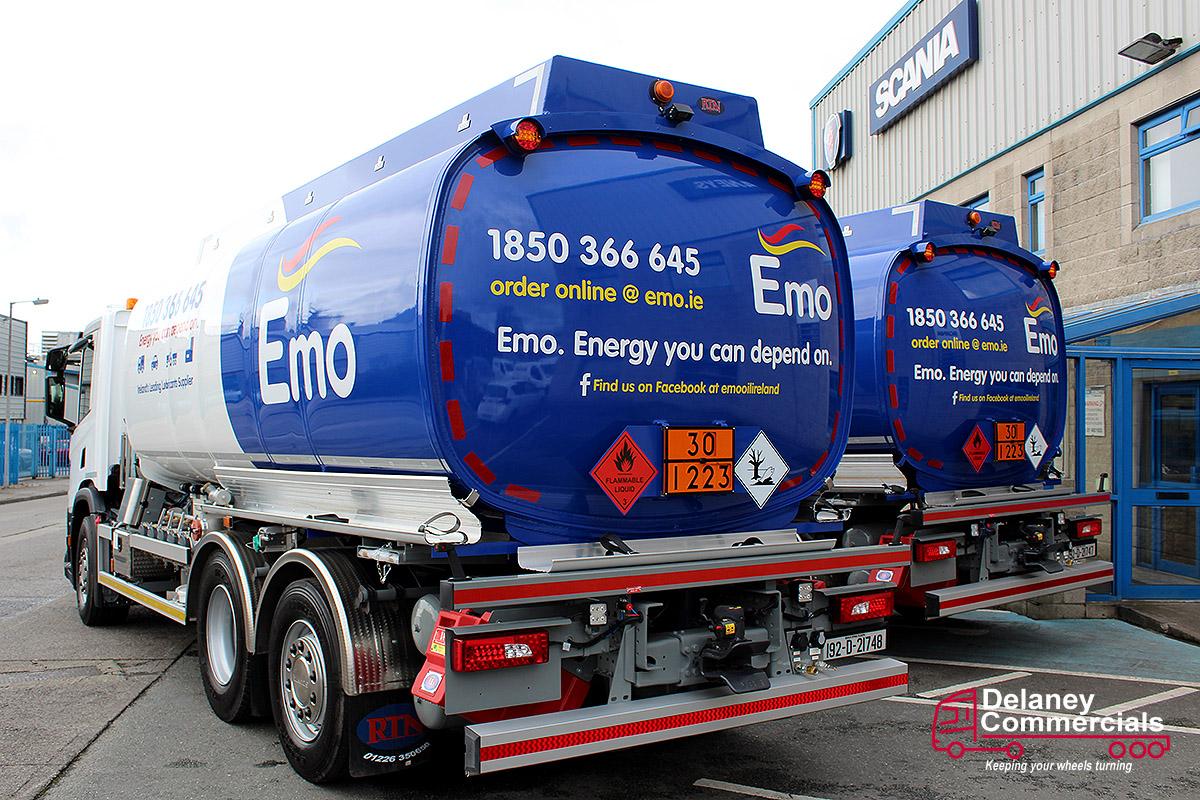 Emo oil's Scania P410