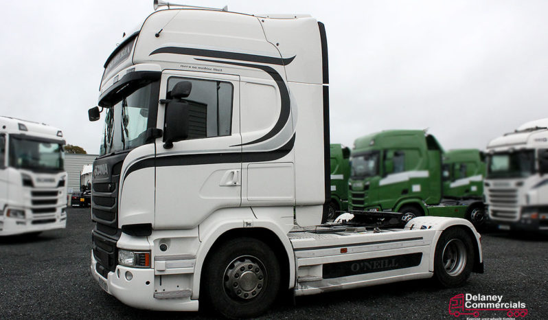 2015 Scania R450 4×2 tractor unit. full