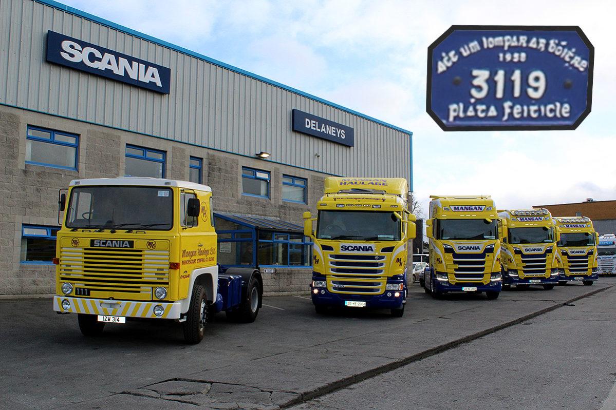 mangan haulage