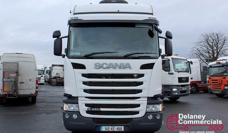 2014 Scania G450 4×2 tractor unit full