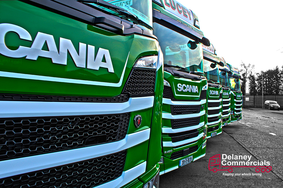 Scania R450s