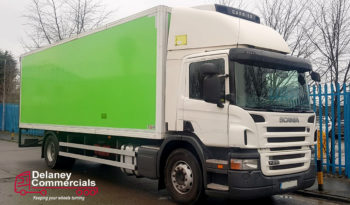 2011 Scania P230 4×2 Refrigerated truck for sale full