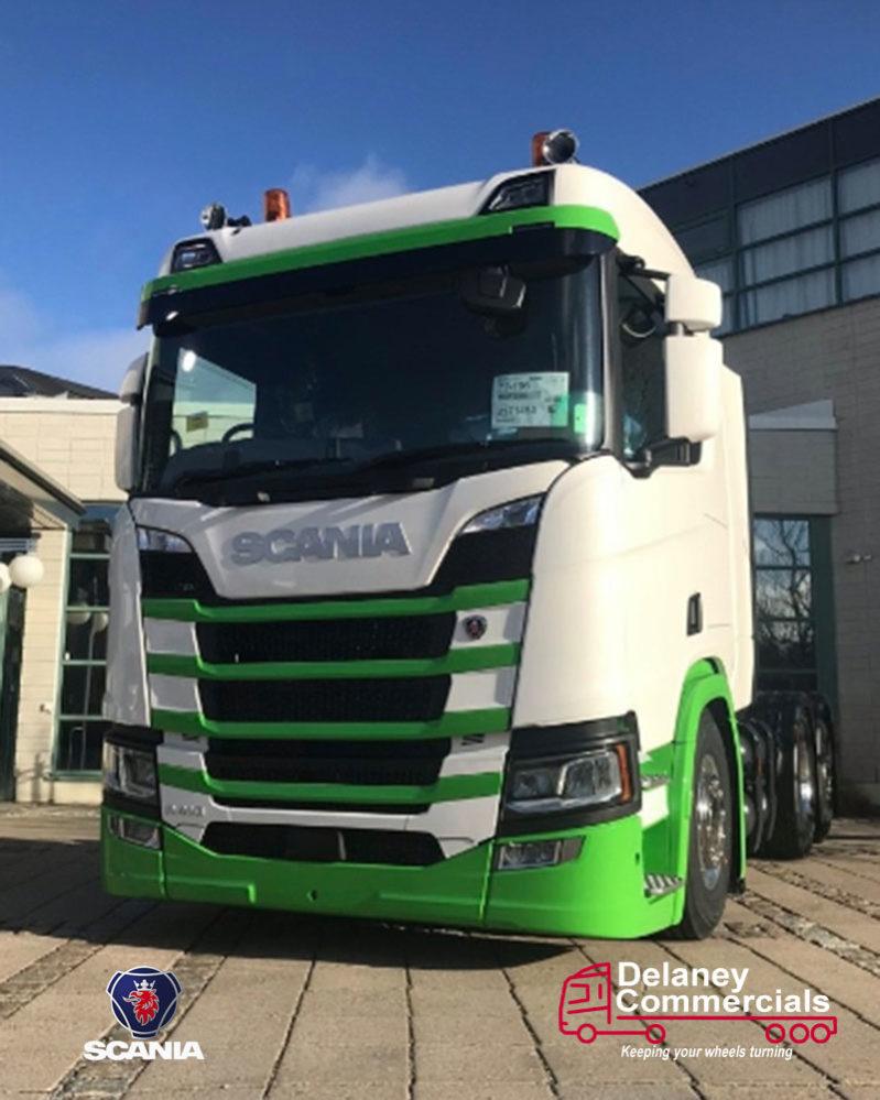 Scania R410 6x2