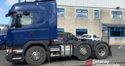 2016 Scania G450 6×2 twin steer for sale.