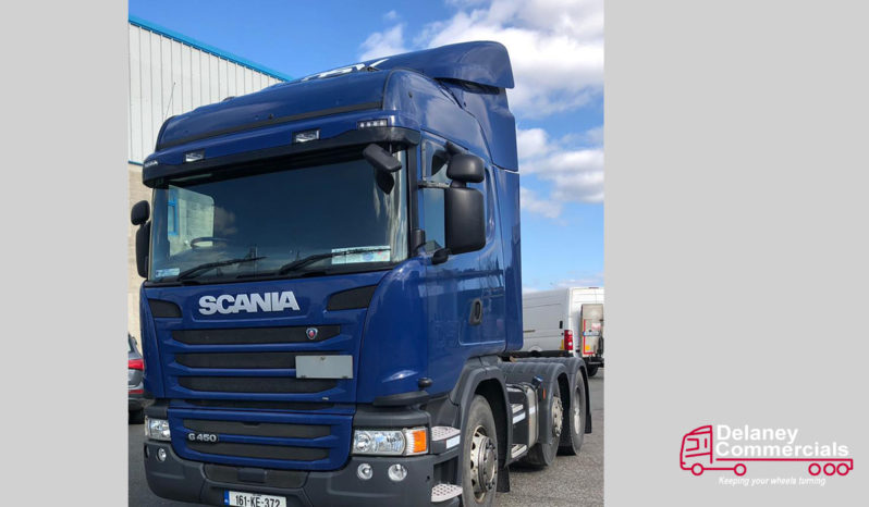 2016 Scania G450 6×2 twin steer for sale. full