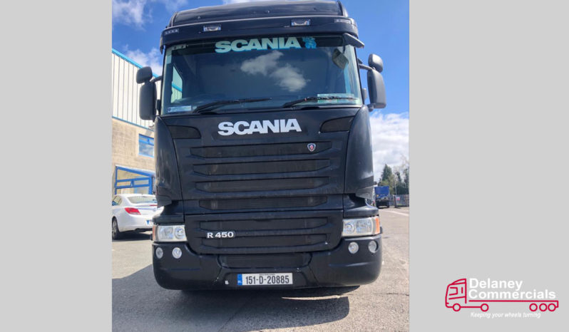 2015 Scania R450 6×2 twin steer for sale full