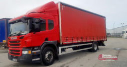 2016 Scania P250 4×2 curtainside for sale