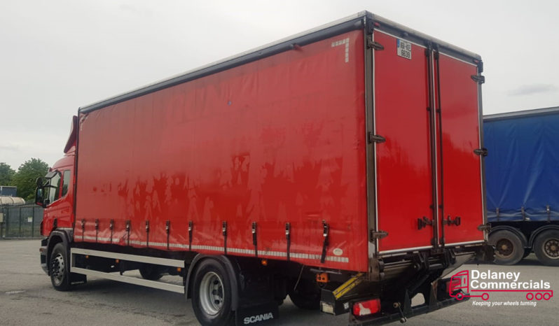 2016 Scania P250 4×2 curtainside for sale full