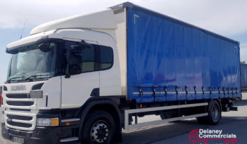 2016 Scania P250 4×2 curtainsider for sale full