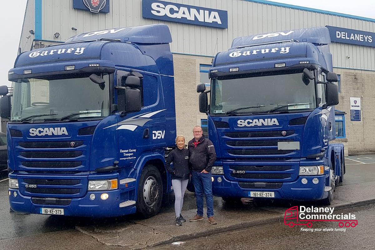 Emmet garveys Scania G450