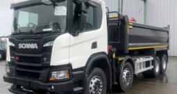 New P410b 8x4hz Xt Grab truck.