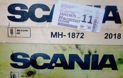 Scania parts box