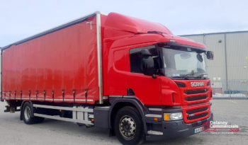 2016 Scania P250 4×2 curtainside for sale full