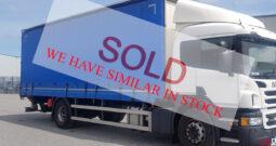 2017 Scania P250 cutainsider sale/rental