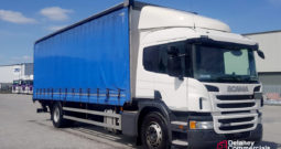 2016 Scania P250 4×2 curtainsider for sale