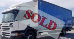 2016 Scania P250 4×2 curtainsider for sale