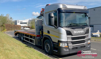 New Scania P320 6×2*4 flatbed with Palfinger Crane for sale