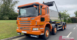 2015 Scania P410 Hook lift for sale.