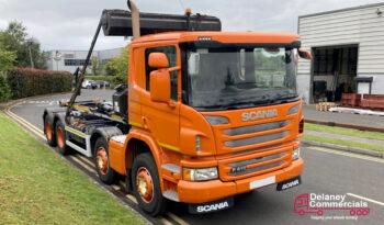 2015 Scania P410 Hook lift for sale. full